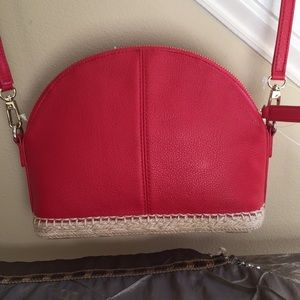 New/with tags crossbody leather purse